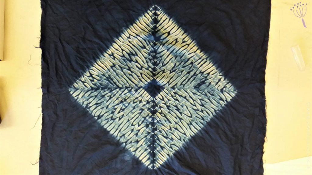 Gabys diamond shibori pattern