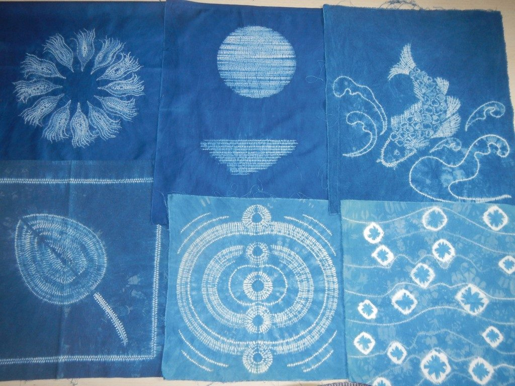 shibori by Odile, Christiane and Catherine